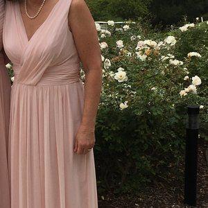 Blush Bridesmaid Dress - Dessy 2894